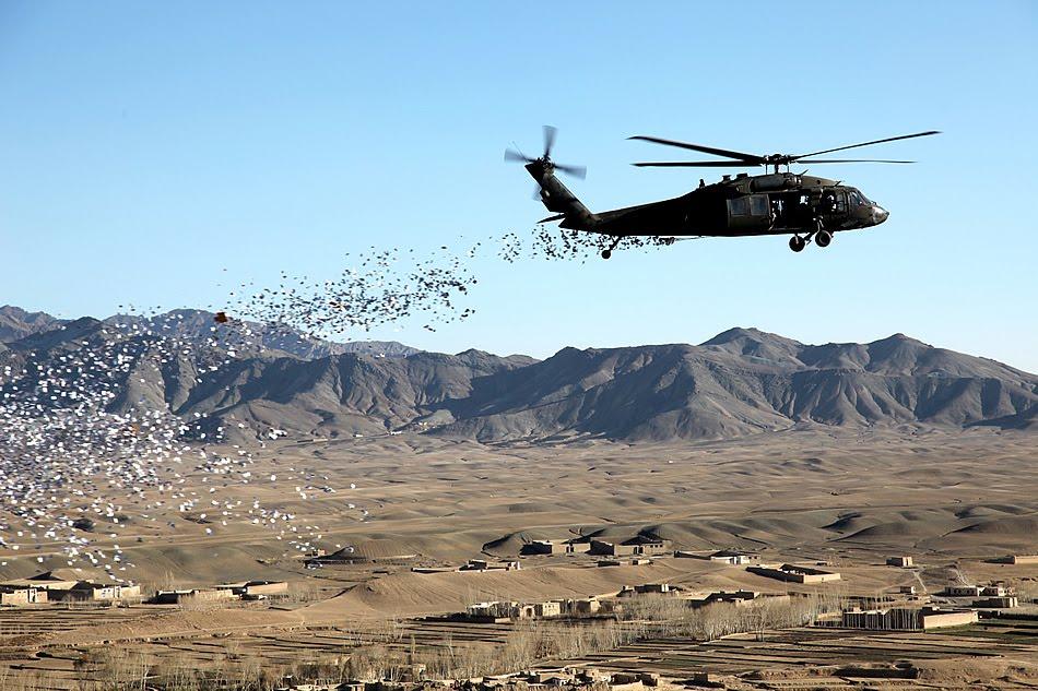 leaflet-drop-afghanistan | 24 HR GA Gambling Addiction Help